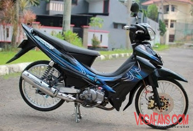 Jupiter Z Hitam Modif Simple