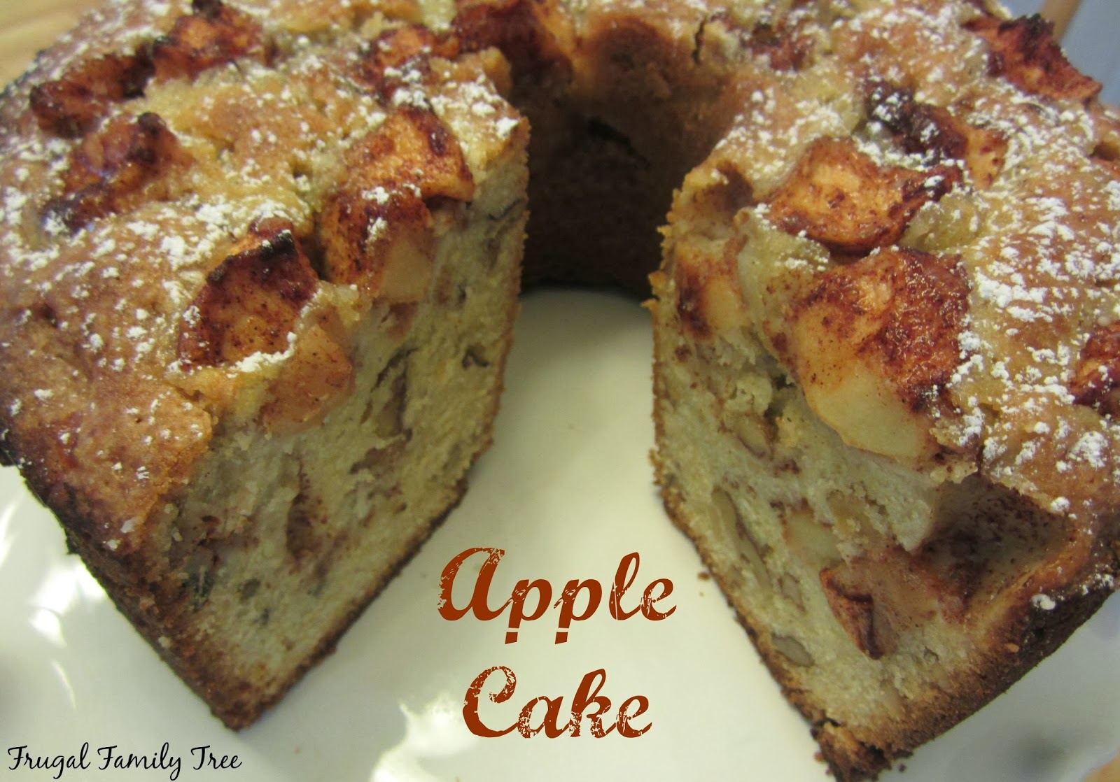 My Favorite Apple Cake Recipe From Smitten Kitchen Frugal Family Tree