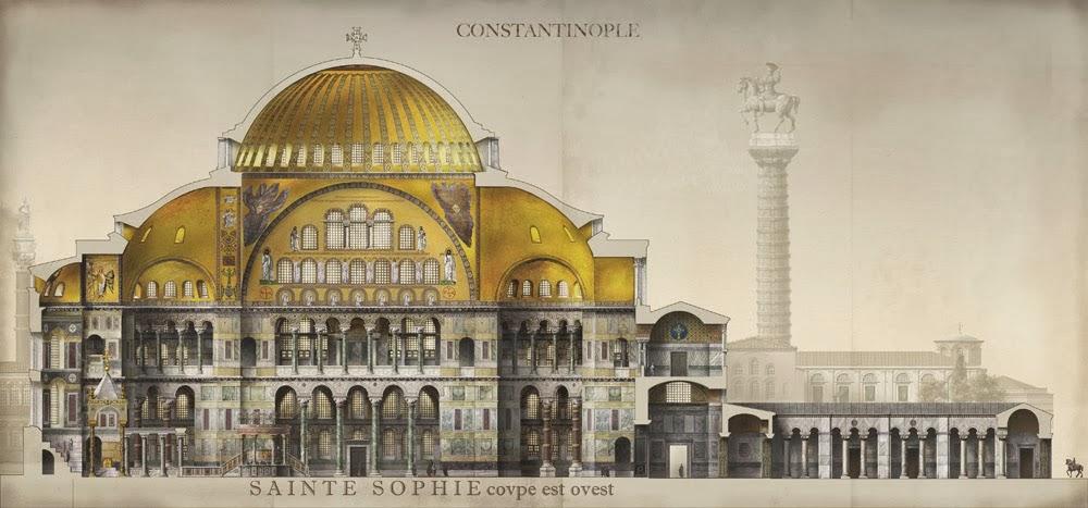 H Βυζαντινή Αυτοκρατορία μέσα από εικόνες φτιαγμένες από τον Γάλλο καλλιτέχνη Antoine Helbert