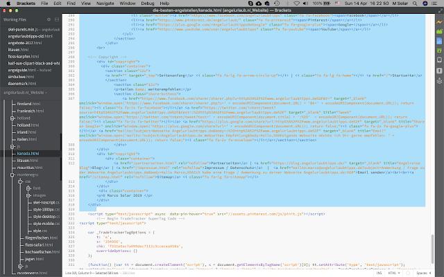 html Entwicklung