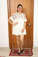 Lavanya Tripathi in Summer Style Spicy Short White Dress at her Interview  Exclusive 292.JPG
