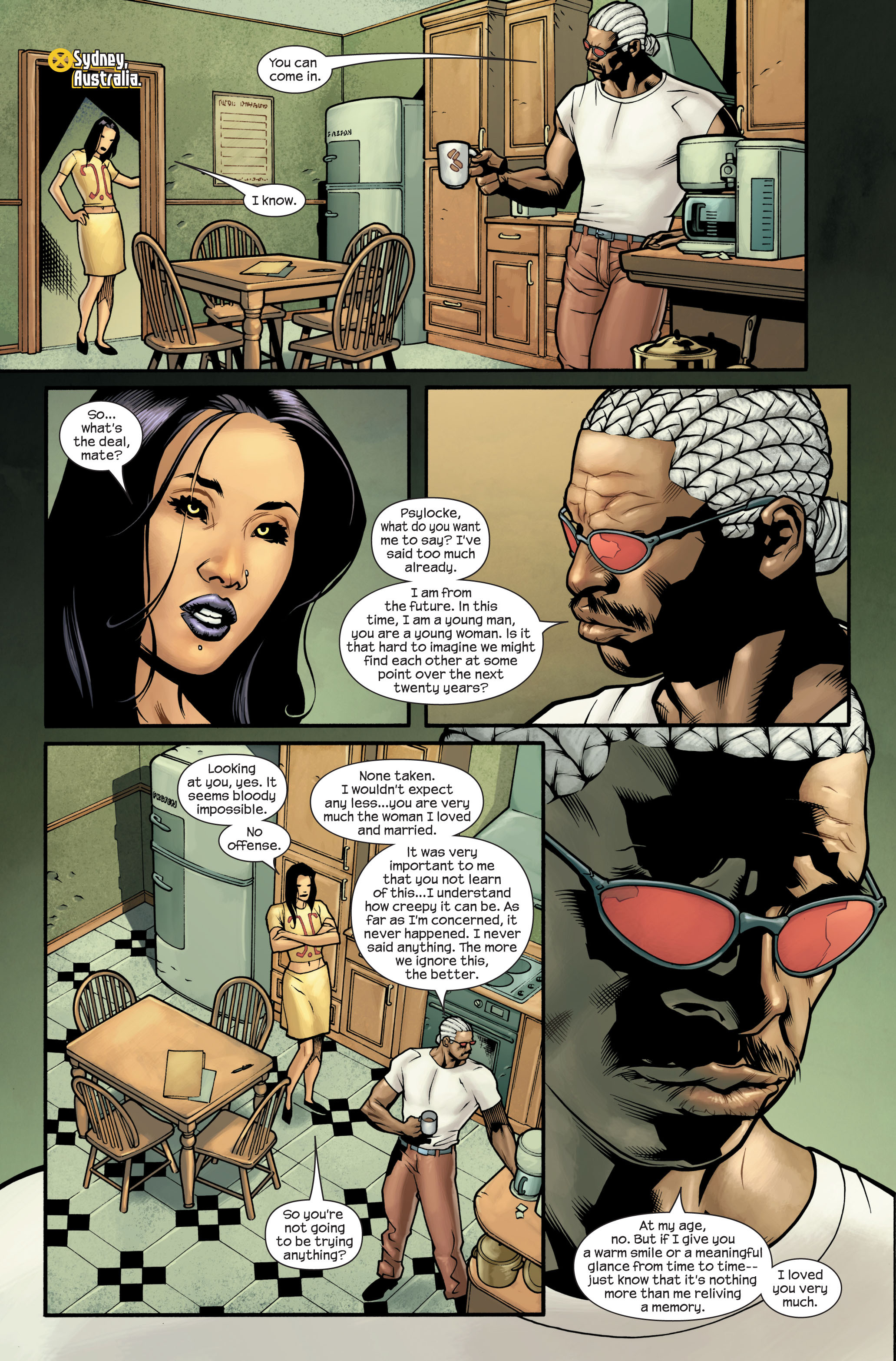 Read online Ultimate X-Men comic -  Issue #88 - 14