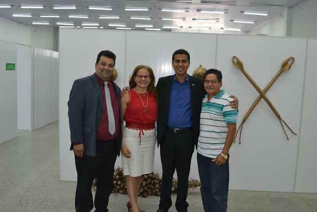 Adelmo Soares, Marlene Bandeira, Deputado Marco Aurélio e Valdinar Barro