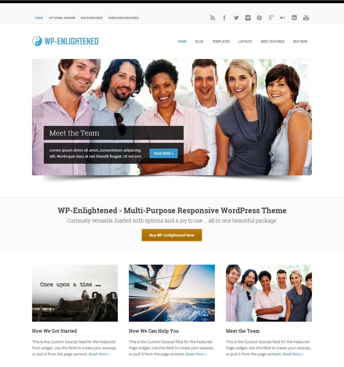 WP-Enlightened - Solostream Premium WordPress Theme - Free