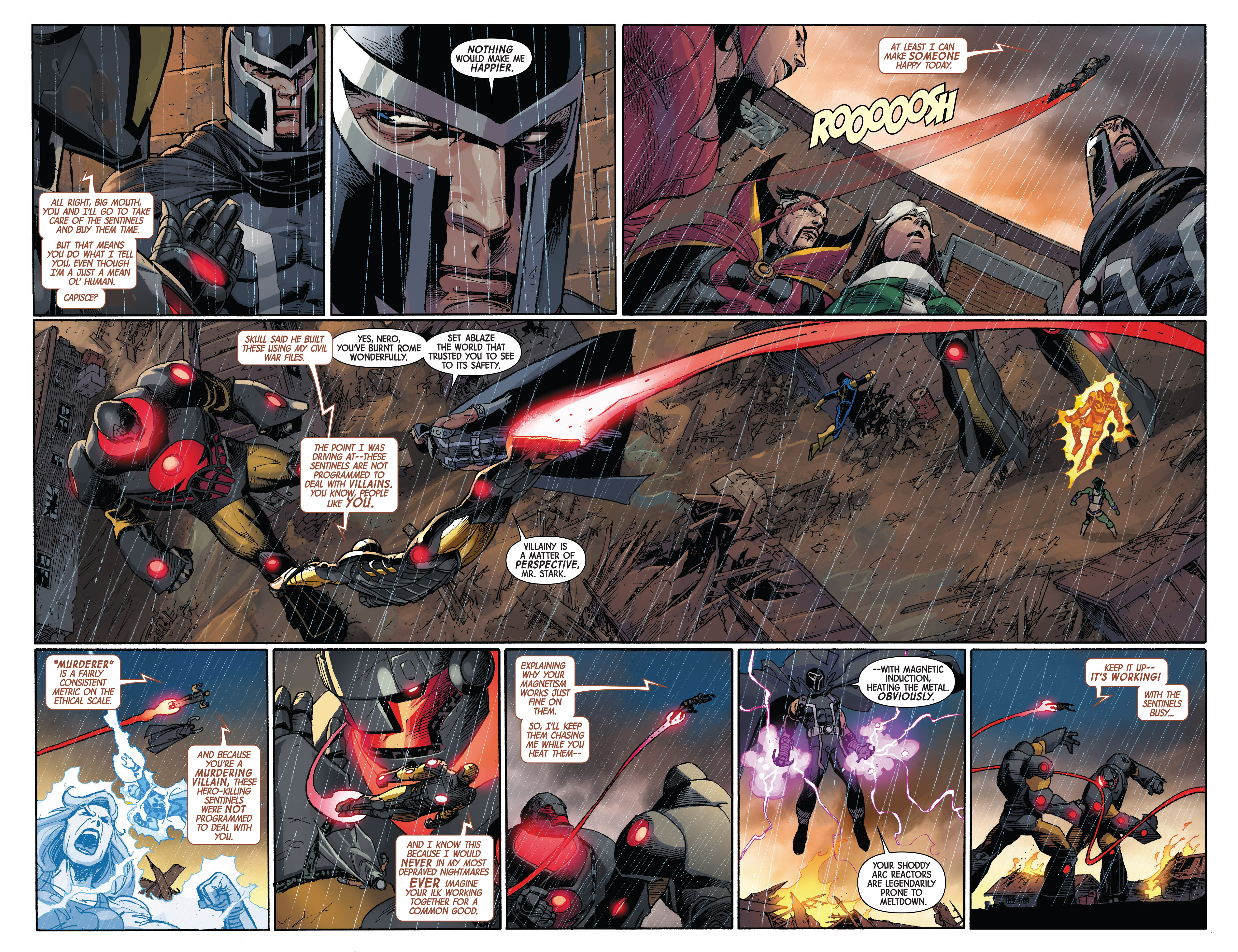 Read online Avengers & X-Men: AXIS comic -  Issue #2 - 10