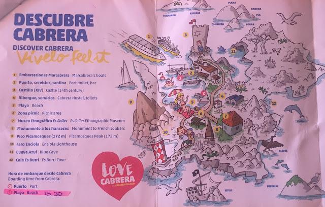 Mapa de Cabrera