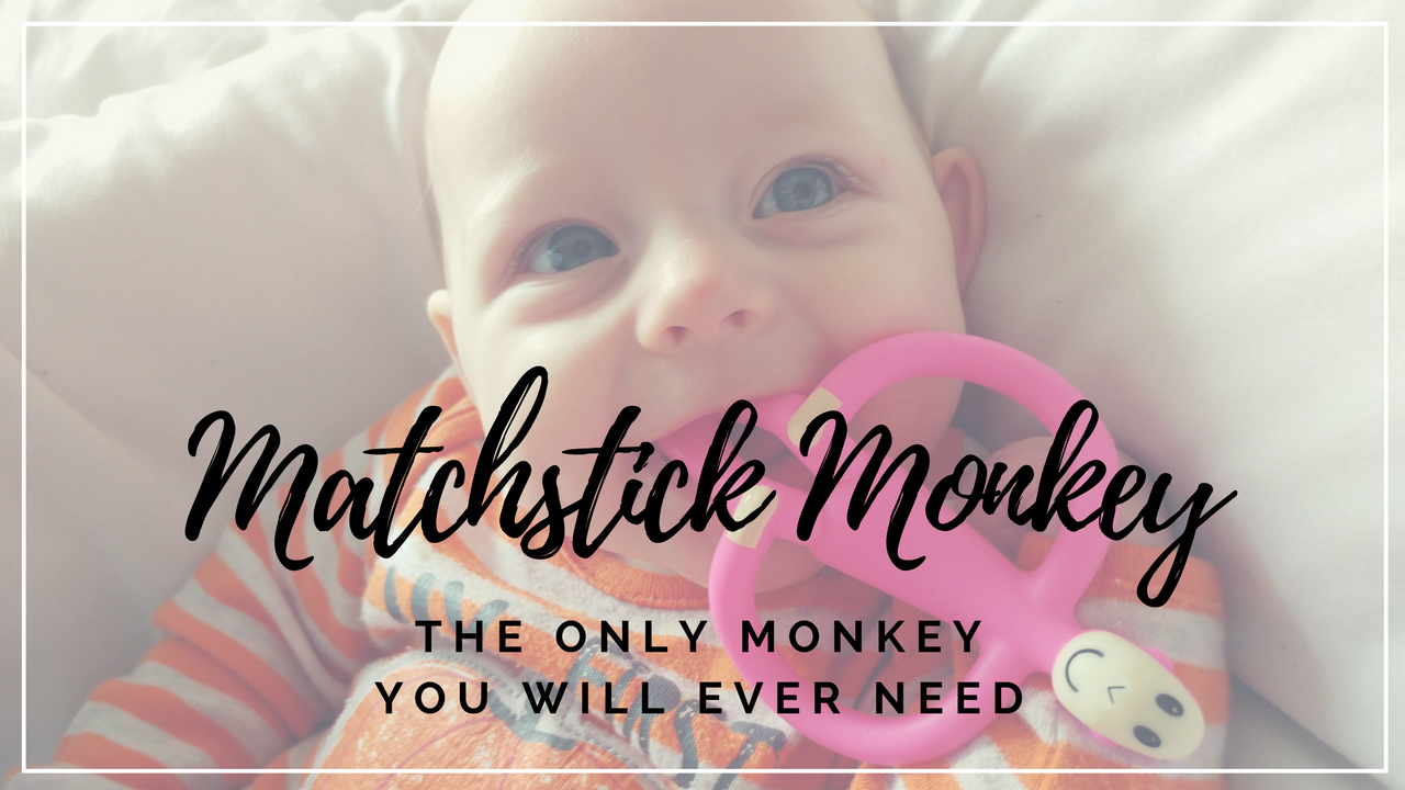 Tired of looking for teething toys that are small enough for baby to hold, but live up to their claims of helping? Then Matchstick Monkey is your guy.