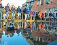Tijdens de masterclass in Hoogeveen wordt ook de praktijk getoond (Climatescan). Bron: Internationale kennisuitwisseling klimaatbestendige steden