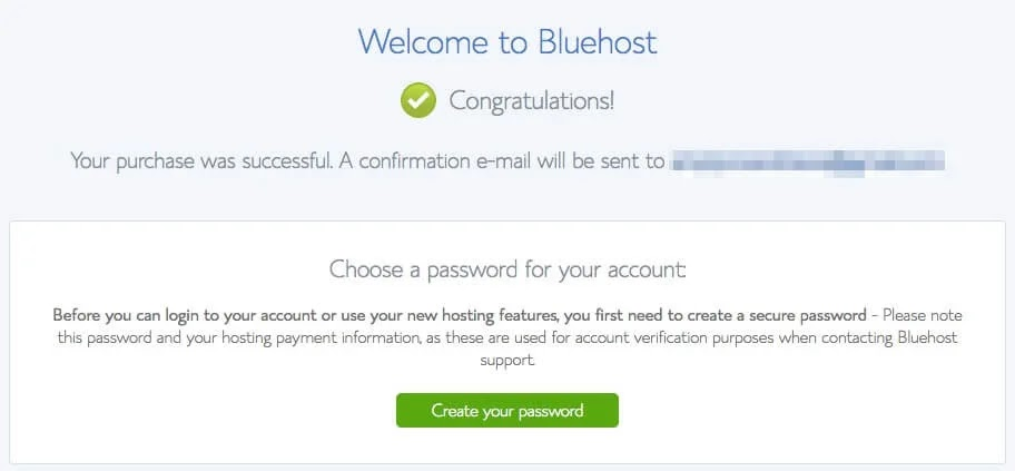 Welcome to bluehost panel