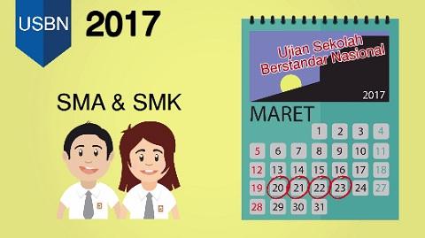 Jadwal Pelaksanaan dan Mata Pelajaran UN USBN 2017, Akses Videonya di Laman un.kemdikbud.go.id