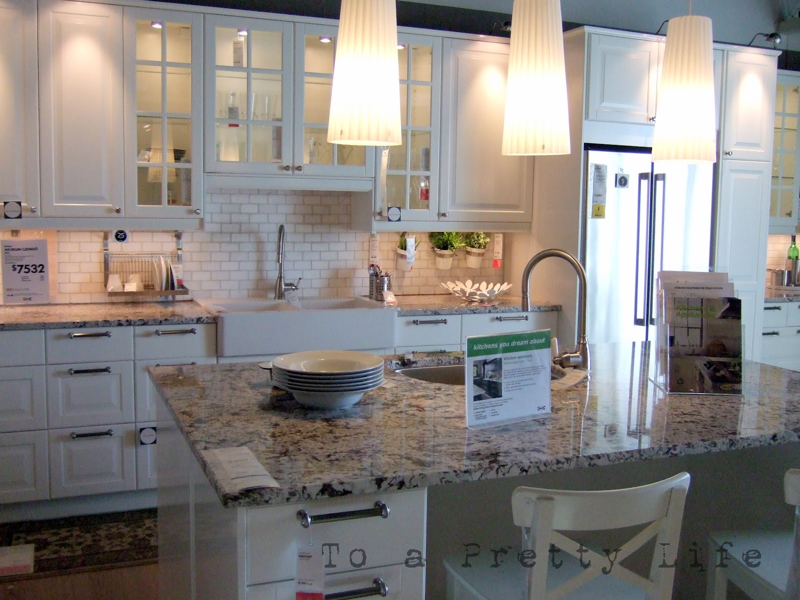 Ikea Kitchen Counters Pantry Cabinet Lowes Kitchens Countertops Beautiful Modern Home