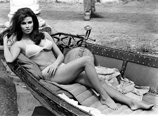 sexy Raquel Welch Fathom bikini