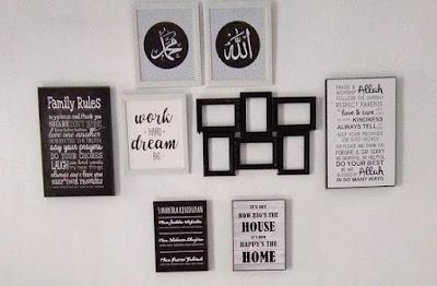 hiasan dinding islami keren