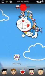 Doraemon Apex / ADW Theme