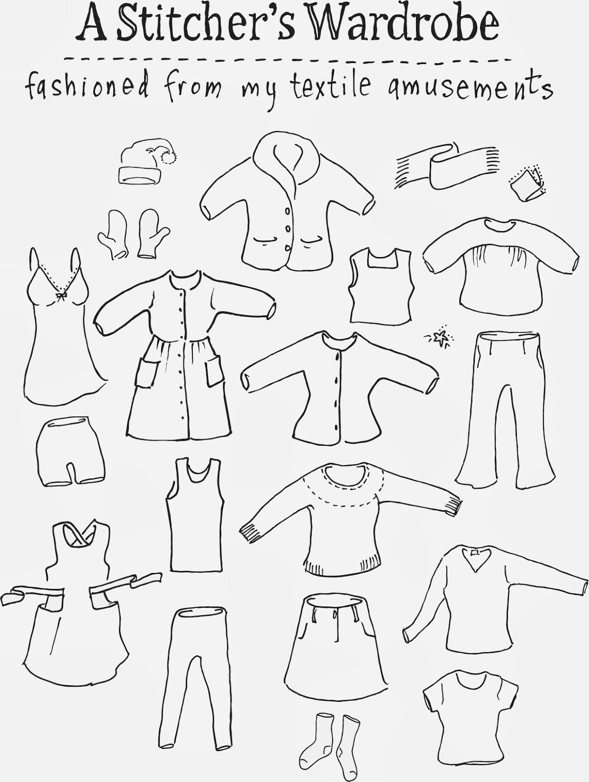 Odacier, Ellen Mason Design: A Stitcher's Wardrobe