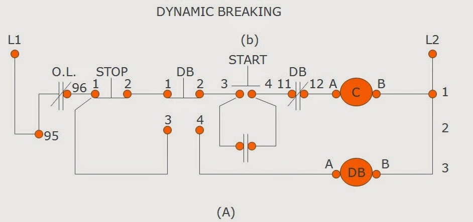 Dynamic Breaking   Motor Control Operation and Circuits