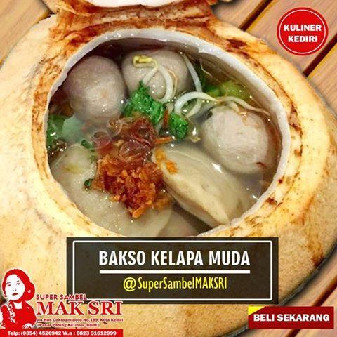 Kuliner Makanan Special Maksri Kuliner Kediri Mak Sri