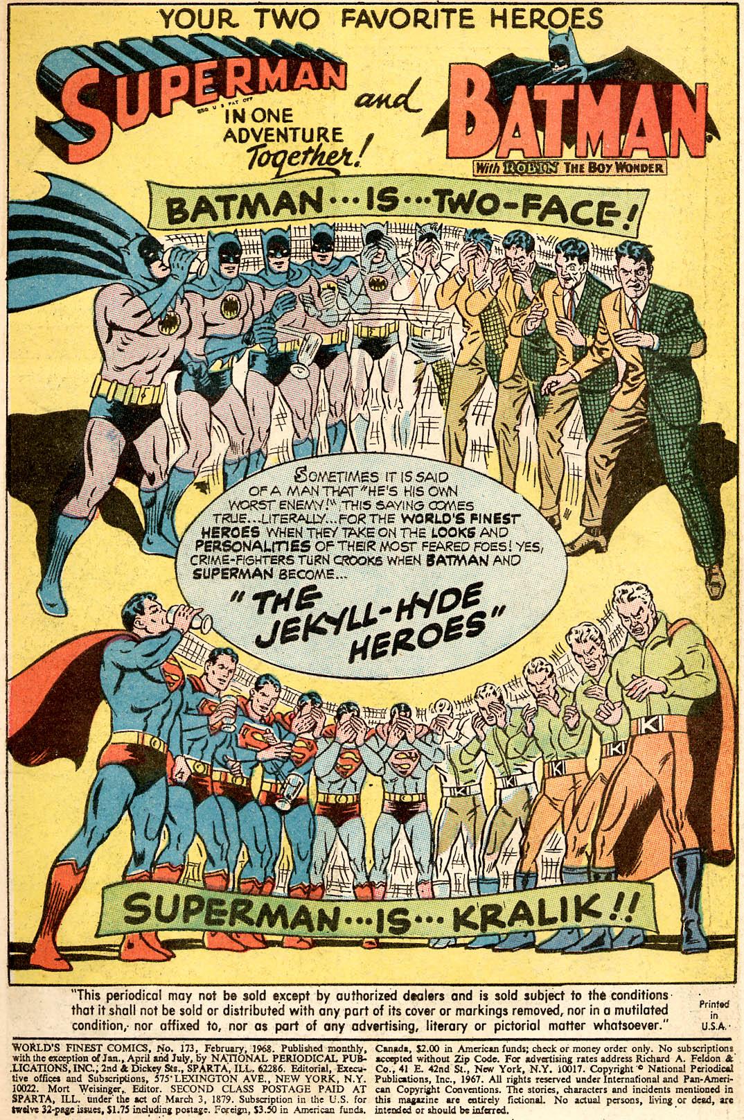 Read online World's Finest Comics comic -  Issue #173 - 3