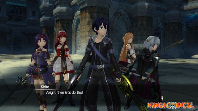 Sword Art Online Hollow Realization Save Game | Manga Council