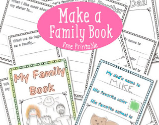Family book imprimible