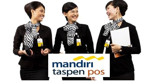 Lowongan PT Bank Mandiri Taspen Pos November 2016