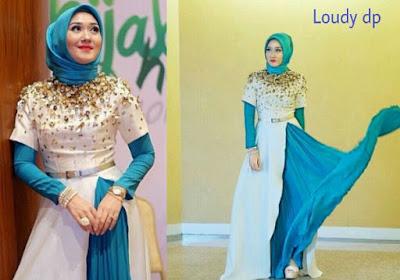 Baju Muslimah untuk kondangan simple