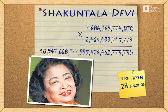 Shakuntla Devi the Human Calculator