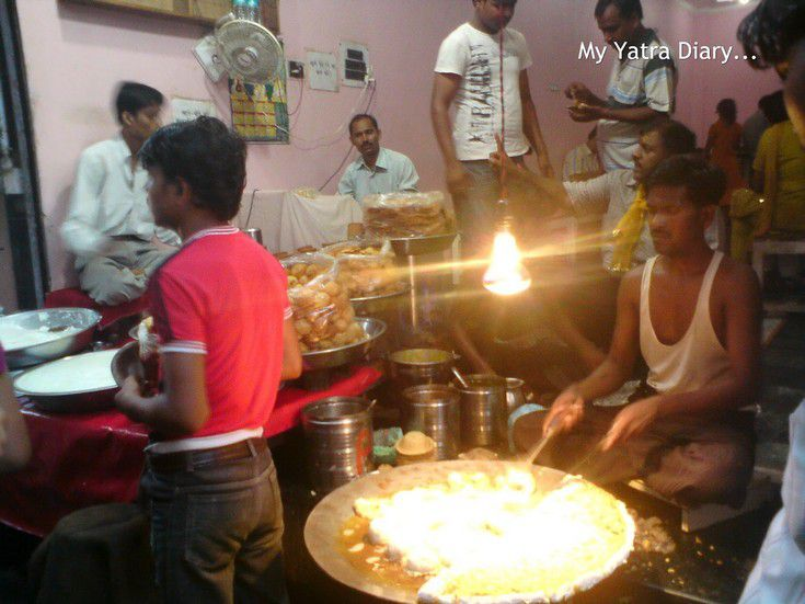Street food of Vrindavan