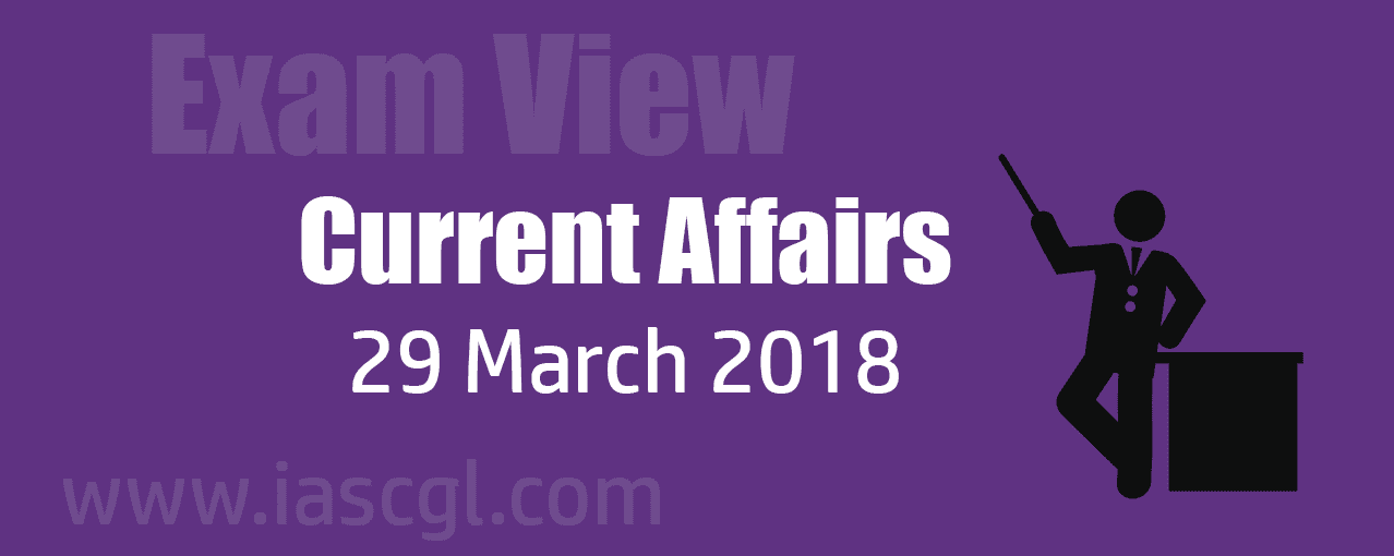 Current Affair 29 march 2018