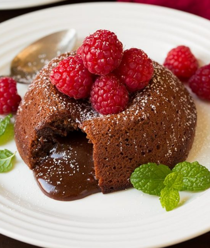 Chocolate Lava Cakes #chocolate #cakes