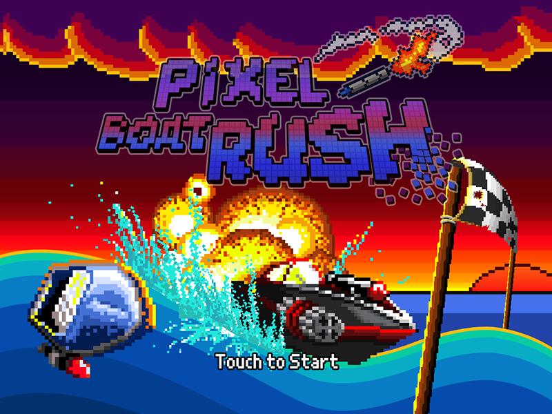 Xperimentalz Games Pixel Boat Rush