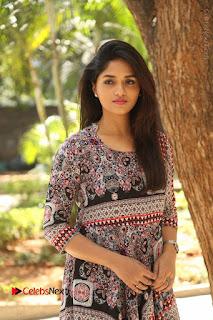 Actress Sunaina Latest Stills in Floral Dress at Pelliki Mundu Prema Katha Trailer Launch  0001.JPG