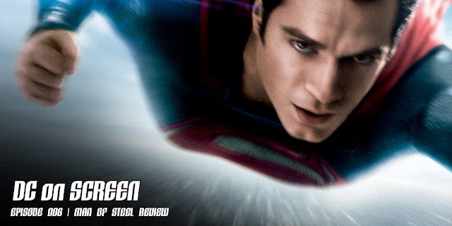 Henry Cavill as Superman in 'Man of Steel' | Text: DC on SCREEN Episode 006 | Man of Steel Review