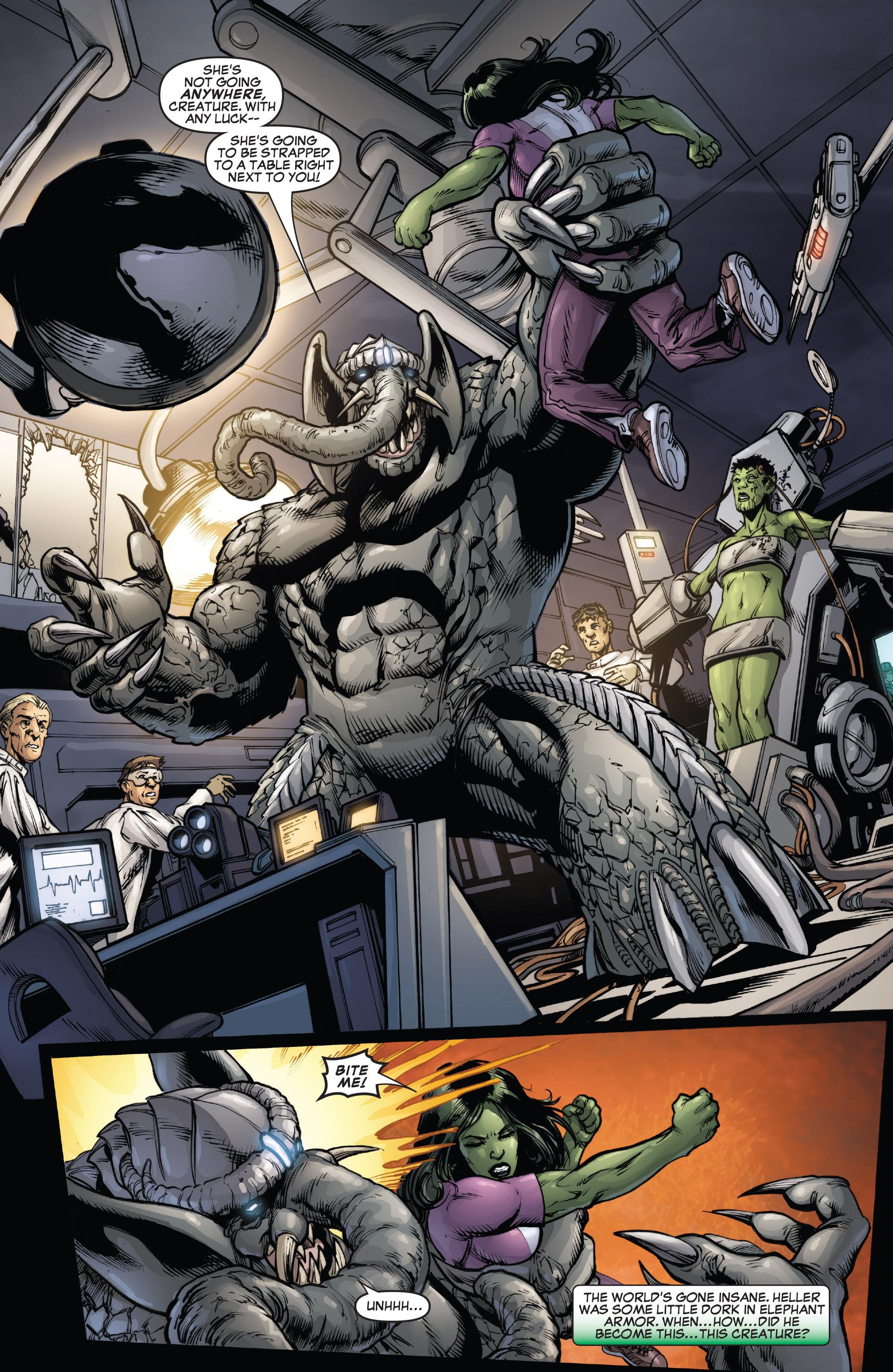 Read online She-Hulk (2005) comic -  Issue #38 - 22
