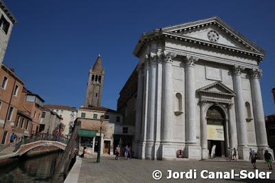 Iglesia de San Barnabás en Venecia
