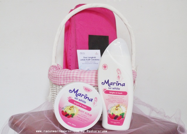 goodiebag marina uv white body care