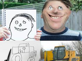 Keren! Seorang ayah menjadikan gambar anaknya menjadi 3D - Responsive Blogger Template
