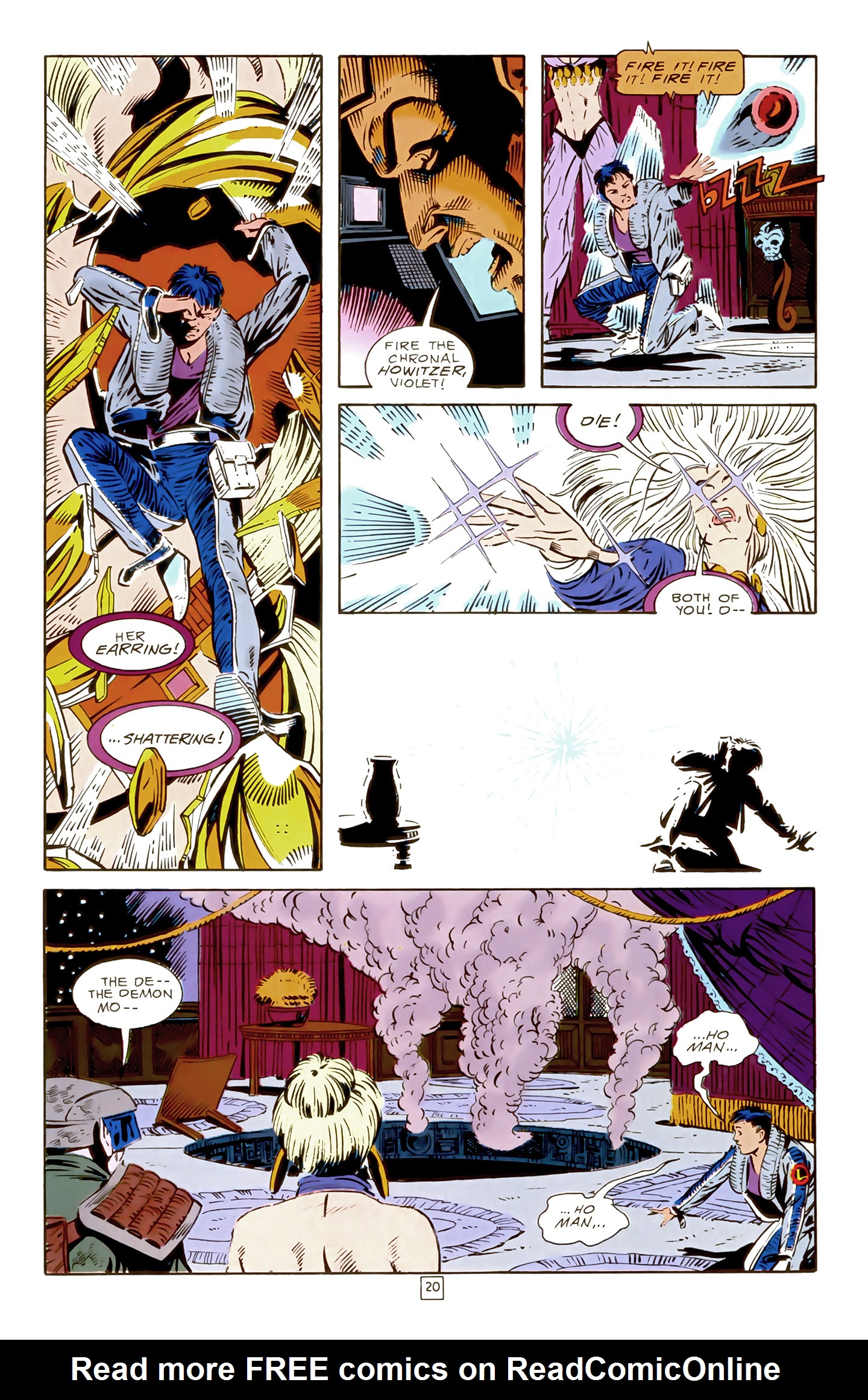 Legion of Super-Heroes (1989) 17 Page 20