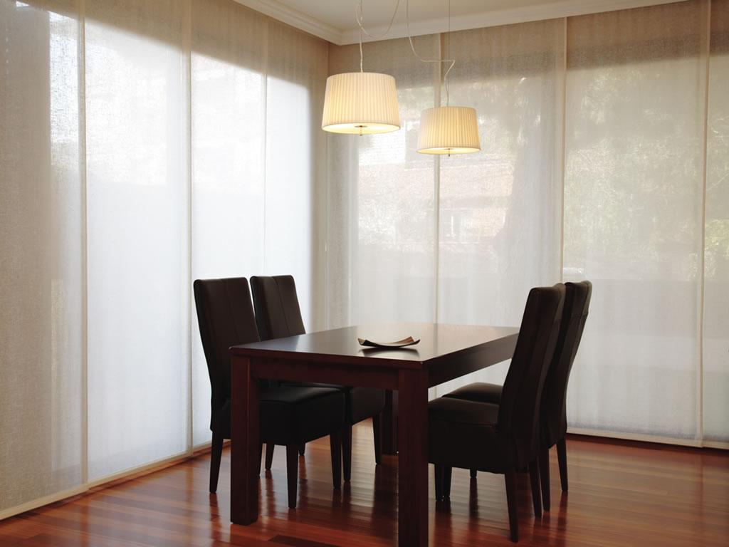 ideales para cubrir grandes ventanas pero cmo elegir la tela ms adecuada para los paneles japoneses te ofrecemos algunos consejos
