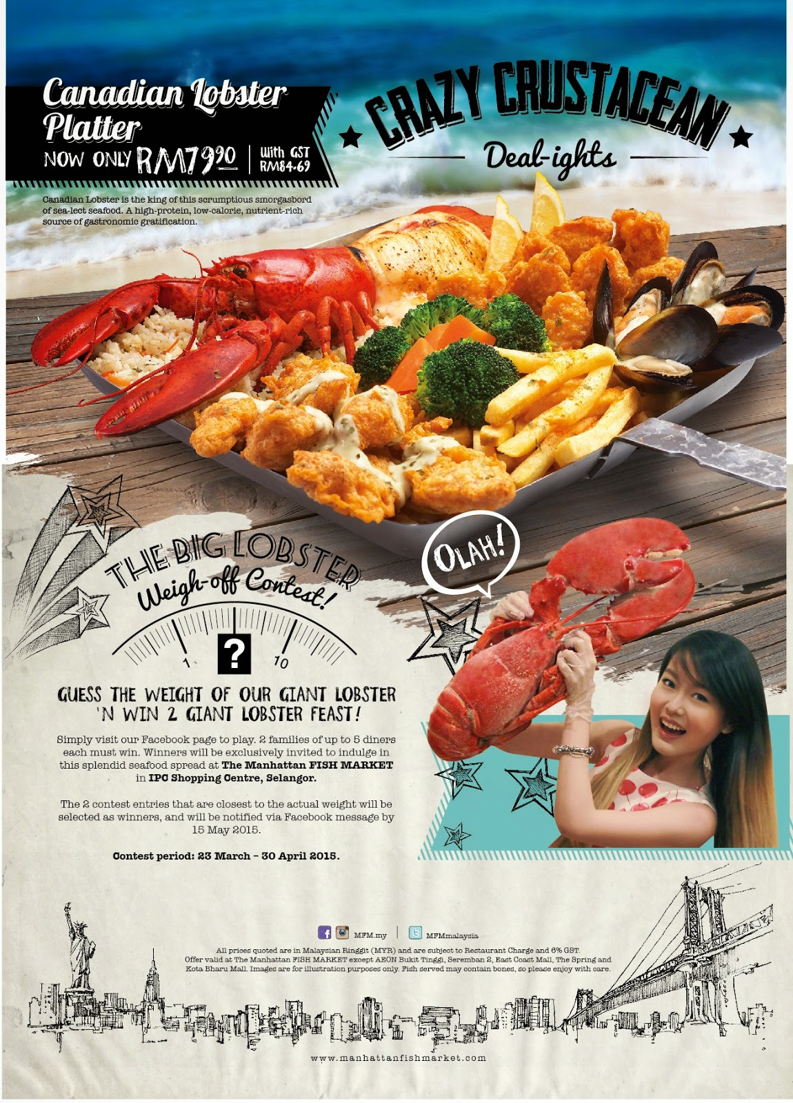 Affordable Canadian Lobster At Only RM3990 Each MFMmy