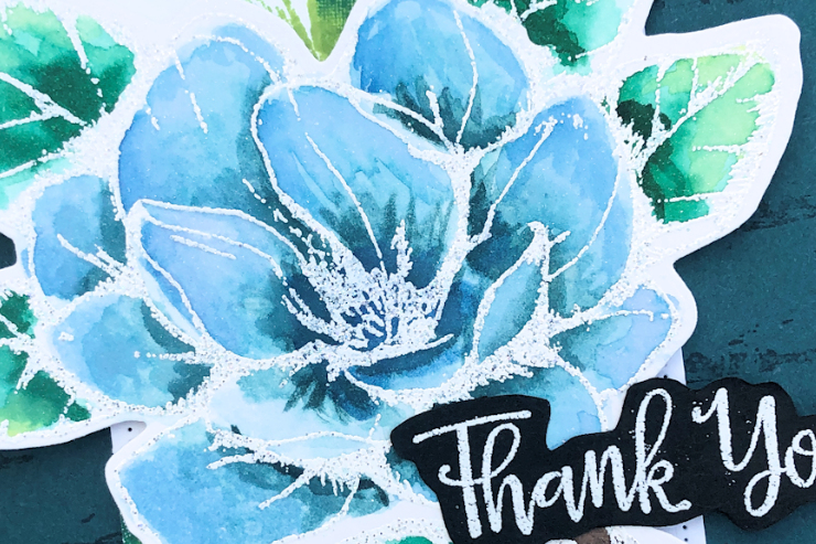Jo's Stamping Spot - Social Stamping Blog Hop - Thank You