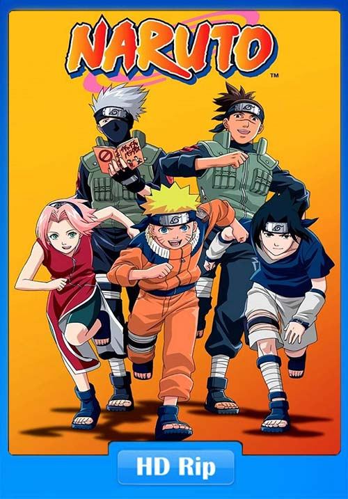 Naruto TV Series 2002–2007 All Part Poster