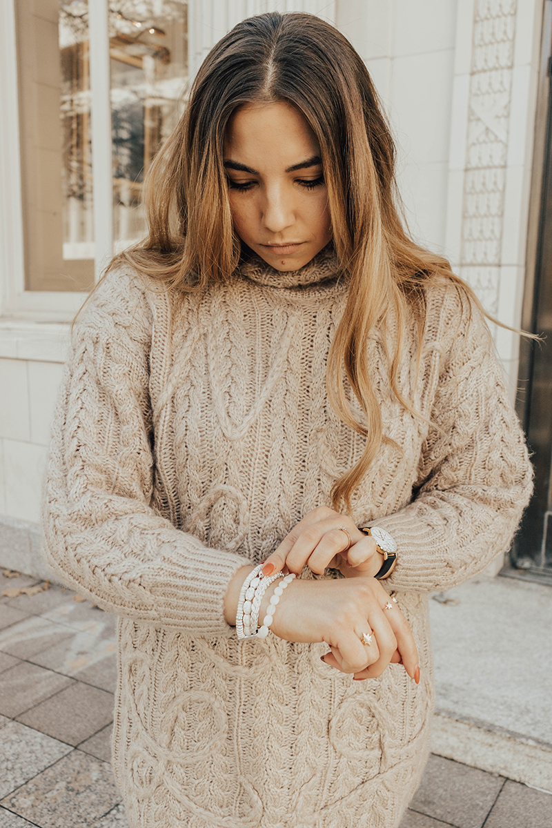 white bracelet, Victoria Emerson, victoria emerson jewelry