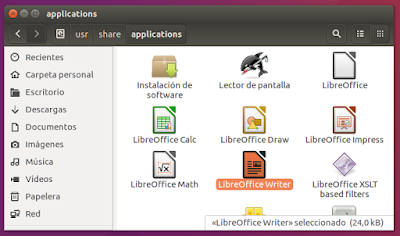Applications LibreOffice Writer