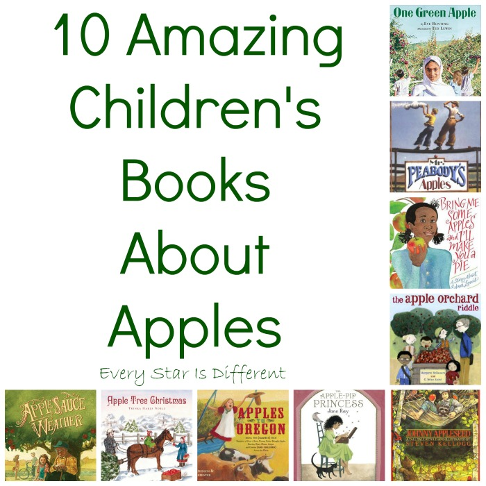 10 Amazing Children's Books About Apples