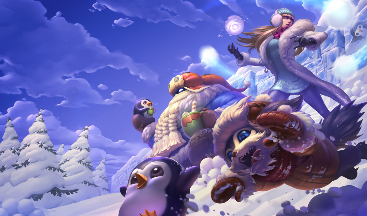 Bard Minimalistic League Of Legends Wallpapers League Of: Surrender At 20: 12/1 PBE Update: Snow Day Splash Art