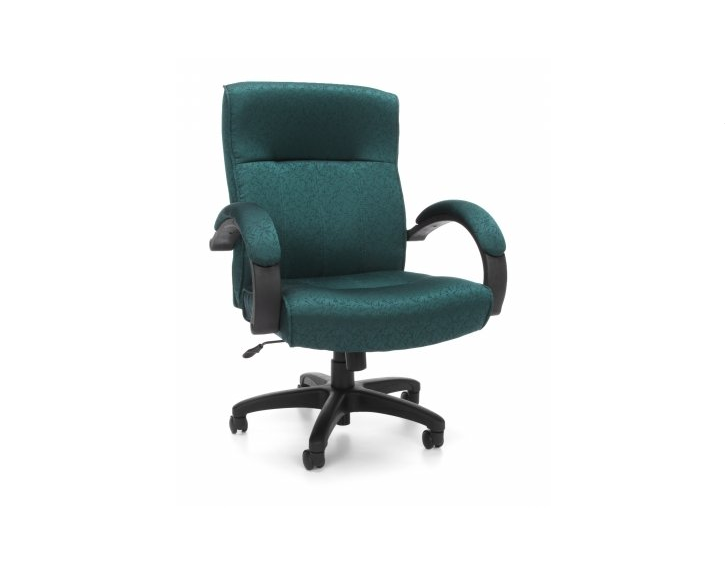 OFM Stature Series Upholstered Mid Back Executive Chair