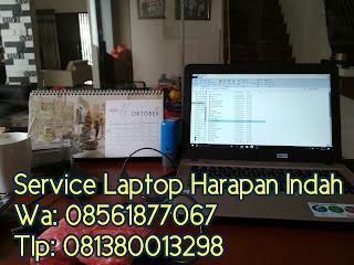 Service laptop di harapan indah, asia tropis , harmoni, efolia