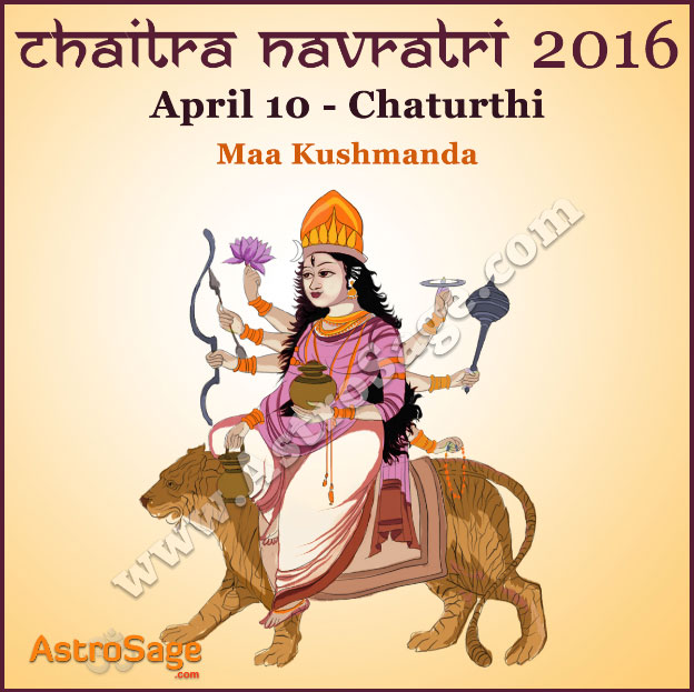 Presenting Chaitra Navratri fourth day Chaturthi today here.