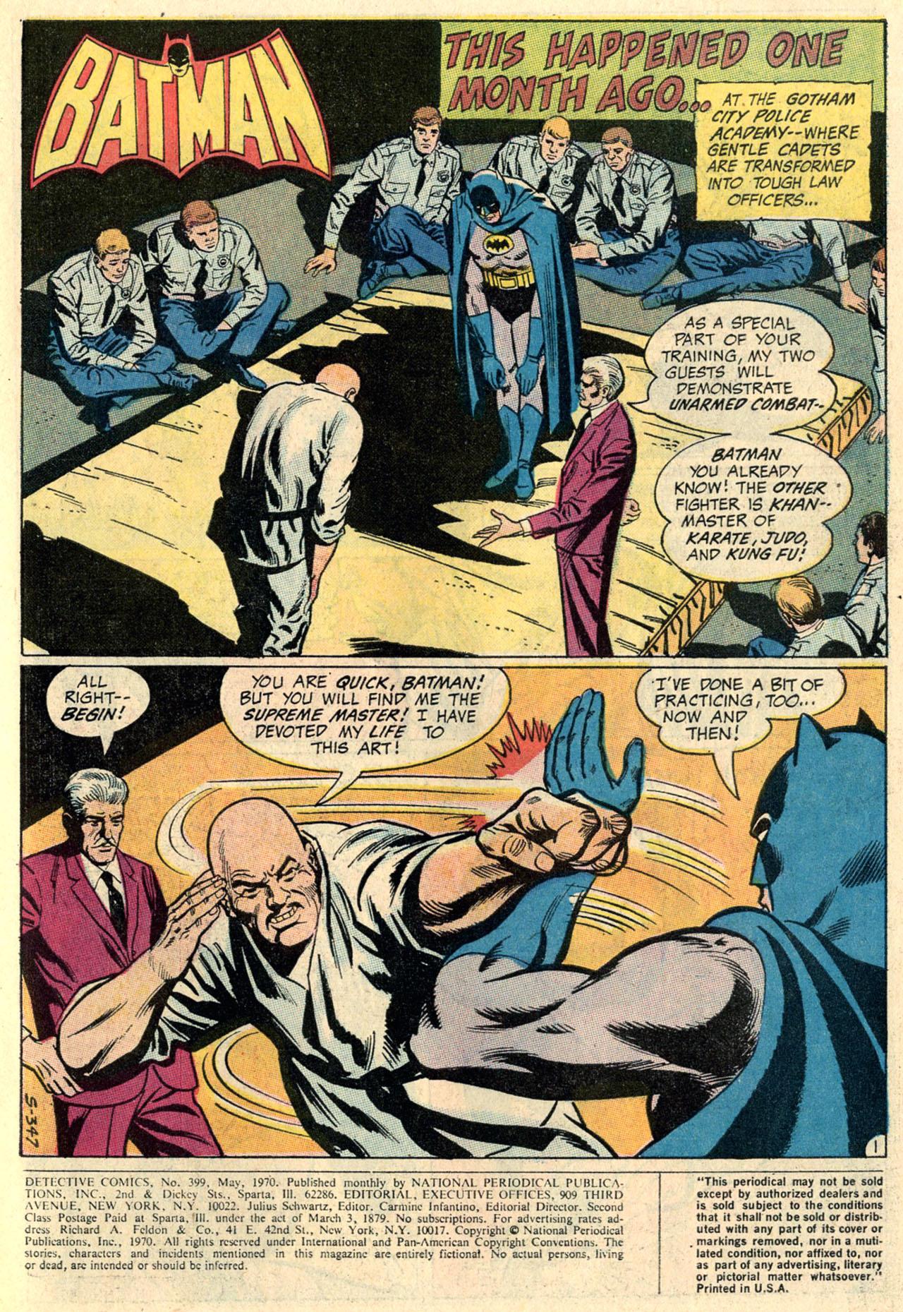 Detective Comics (1937) 399 Page 2